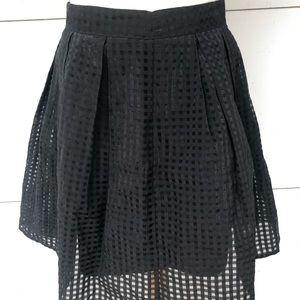 Dotti Women's Black Skirt Sz 10